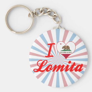 I Love Lomita California Key Chains