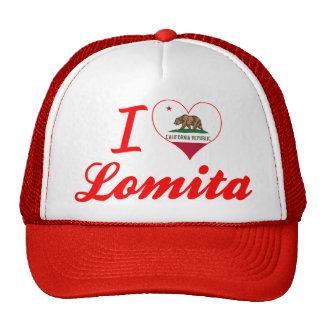 I Love Lomita California Mesh Hats