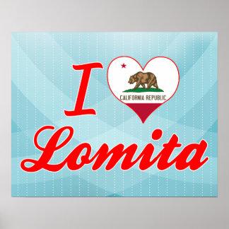 I Love Lomita California Print
