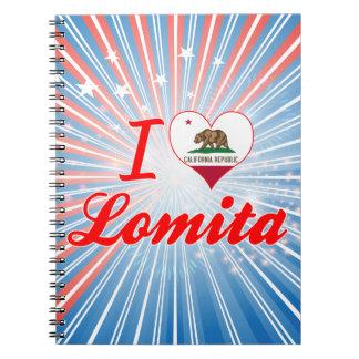 I Love Lomita California Spiral Notebooks