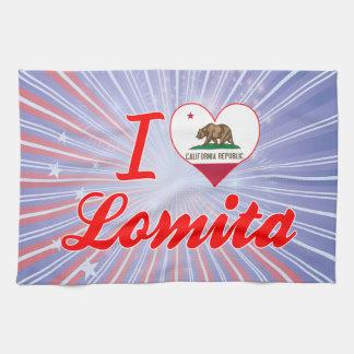 I Love Lomita, California Towel