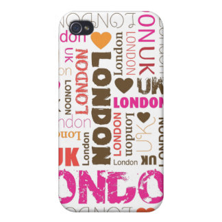 i love londen typography iphone case cover for iPhone 4