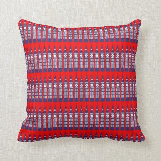 I Love London - Big Ben Throw Pillow