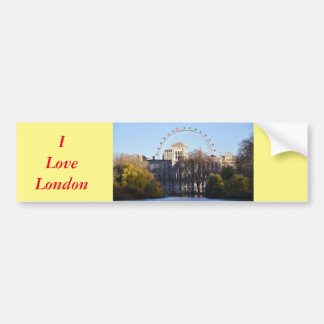 I Love London! Bumper Sticker