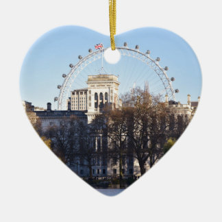 I Love London! Christmas Ornament