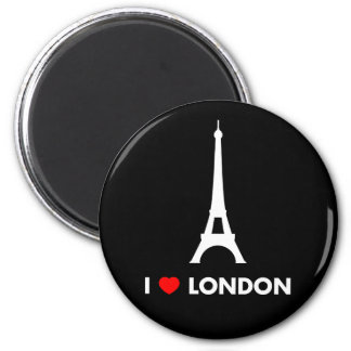 I Love London - Eiffel Tower Magnet Magnets