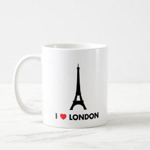 I Love London - Eiffel Tower Mug