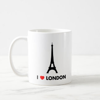 I Love London - Eiffel Tower Mug