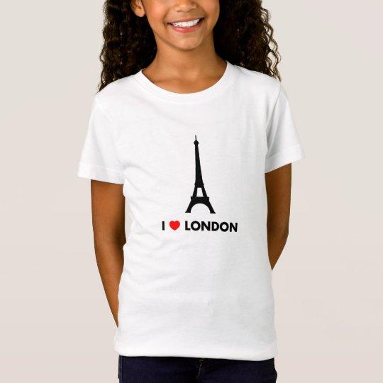 I Love London - Eiffel Tower Shirt