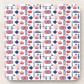 I Love London - Everything London Beverage Coasters