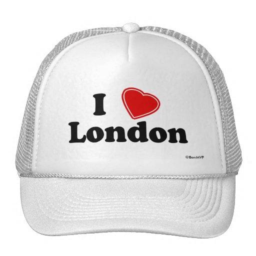 I Love London Trucker Hats