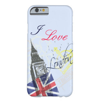 I love London iPhone 6 case Barely There iPhone 6 Case