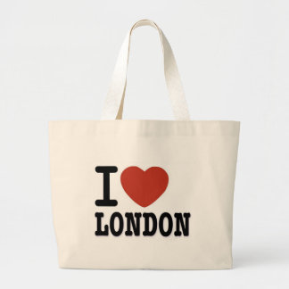 I LOVE LONDON LARGE TOTE BAG