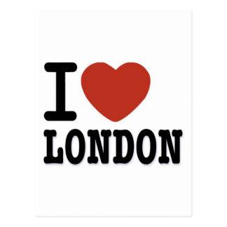 I LOVE LONDON POSTCARDS