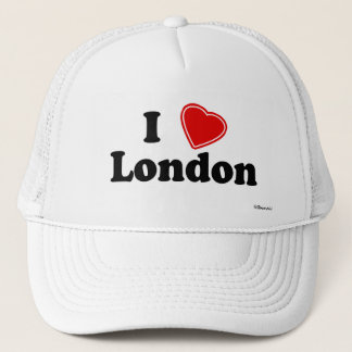 I Love London Trucker Hat