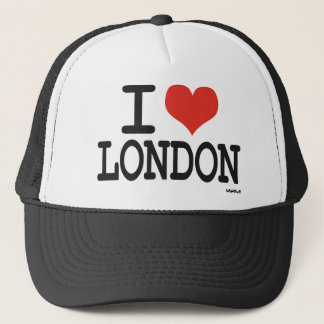 I love London Trucker Hat