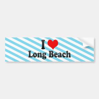 I Love Long Beach, United States Bumper Sticker