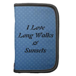 I Love Long Walks & Sunsets Planners