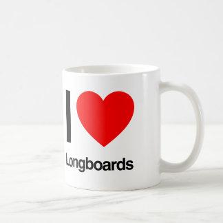 i love longboards coffee mugs