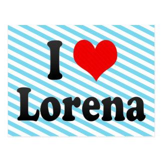 I Love Lorena, Brazil. Eu Amo O Lorena, Brazil Postcard