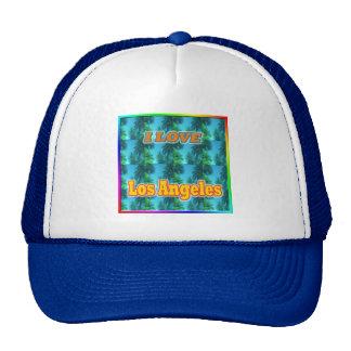 I LOVE Los Angeles 16 Palms Hat
