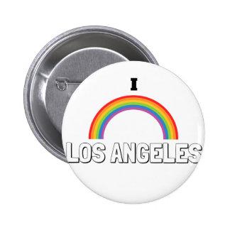 I Love Los Angeles 6 Cm Round Badge