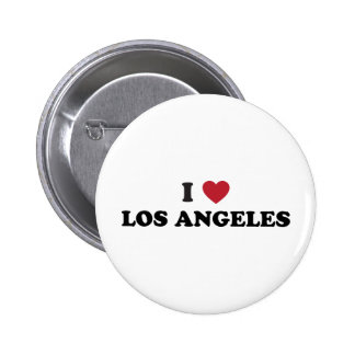I Love Los Angeles 6 Cm Round Badge