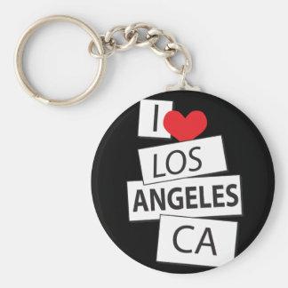 I Love Los Angeles CA Key Chains