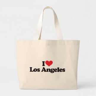 I Love Los Angeles Large Tote Bag