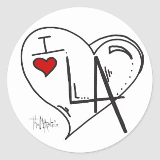 """I Love Los Angeles"" Sticker"