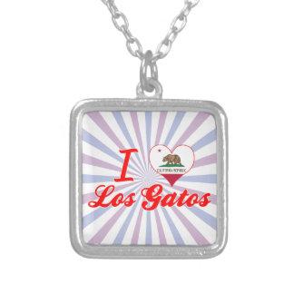 I Love Los Gatos, California Necklace