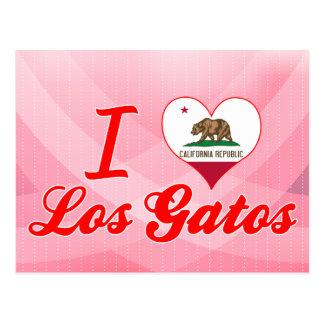 I Love Los Gatos, California Post Cards