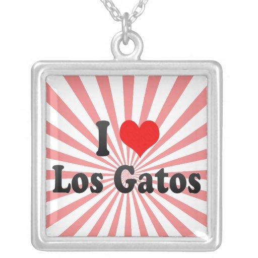 I Love Los Gatos, United States Pendant