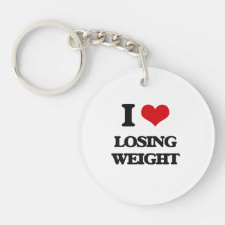 I Love Losing Weight Acrylic Key Chains