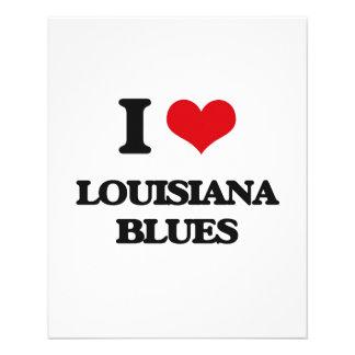 I Love LOUISIANA BLUES Flyers
