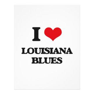 I Love LOUISIANA BLUES Flyer