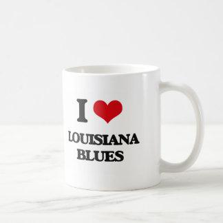 I Love LOUISIANA BLUES Mugs