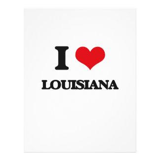 I Love Louisiana Flyer