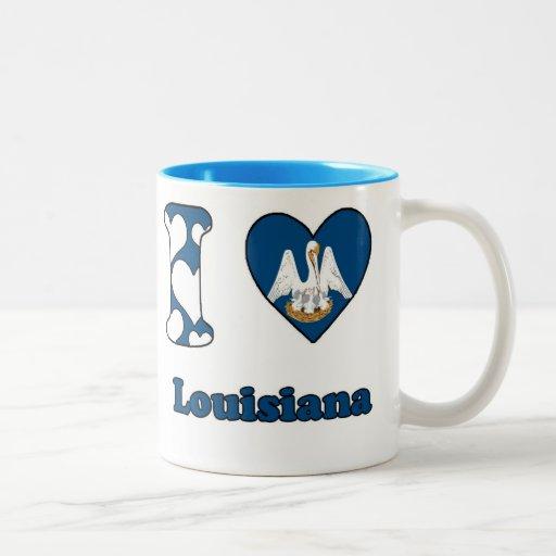 I love Louisiana Coffee Mug