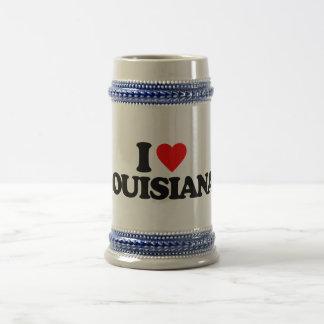 I LOVE LOUISIANA 18 OZ BEER STEIN