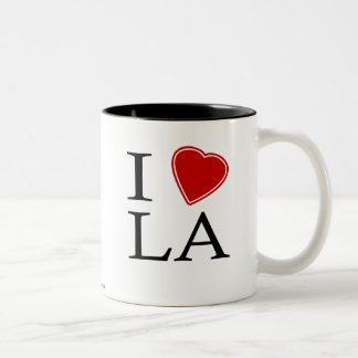 I Love Louisiana Two-Tone Mug