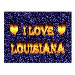 I love lousiana post card