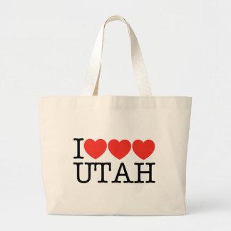 I Love Love Love UTAH! Canvas Bag