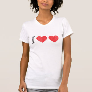 I Love Love T-Shirt - Customized