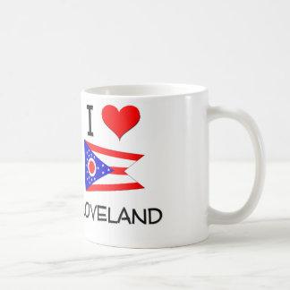 I Love Loveland Ohio Basic White Mug