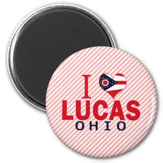 I love Lucas, Ohio Magnet