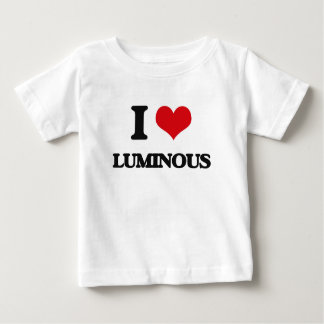 I Love Luminous Tee Shirts