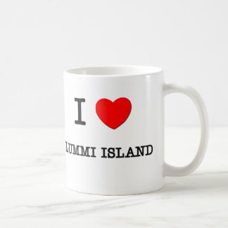 I Love Lummi Island Washington Coffee Mug