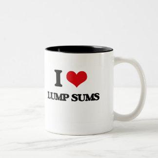 I Love Lump Sums Coffee Mug
