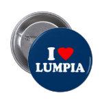 I Love Lumpia 6 Cm Round Badge